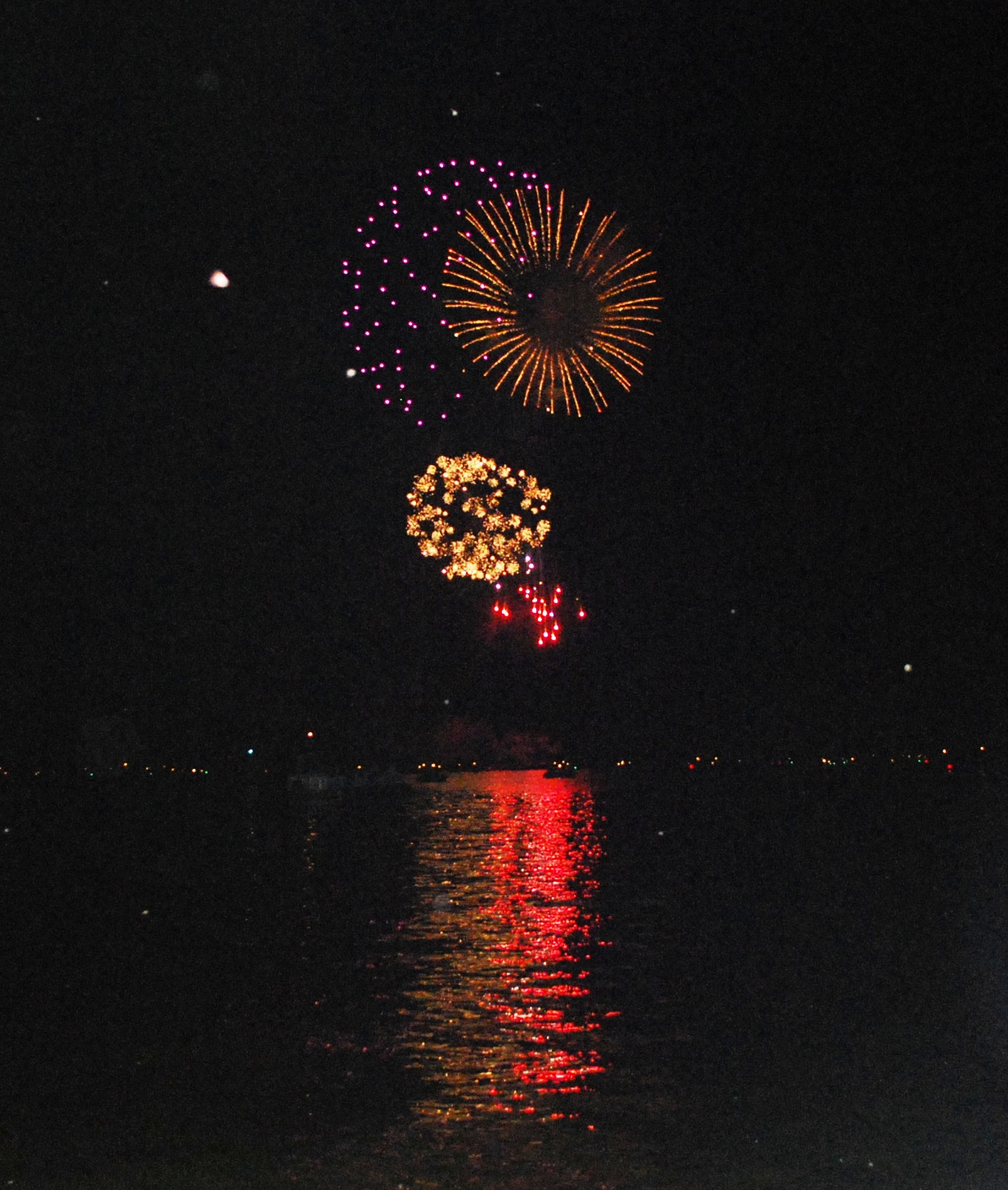 Lake Wateree Fire Works